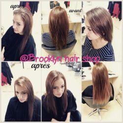 . Extension fait chez brooklyn hair shop